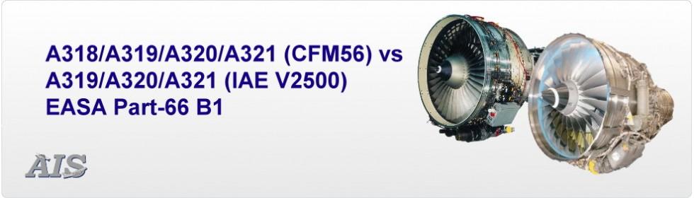 CFM56-5 vs IAE V2500